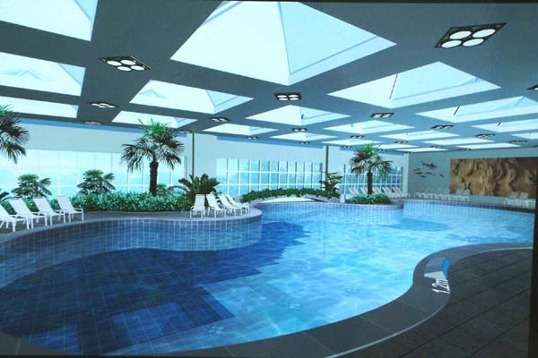 Indoor swimming pool decoration designs guide for Pool design guidelines