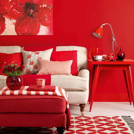 red home decor