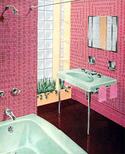 retro bathrooms
