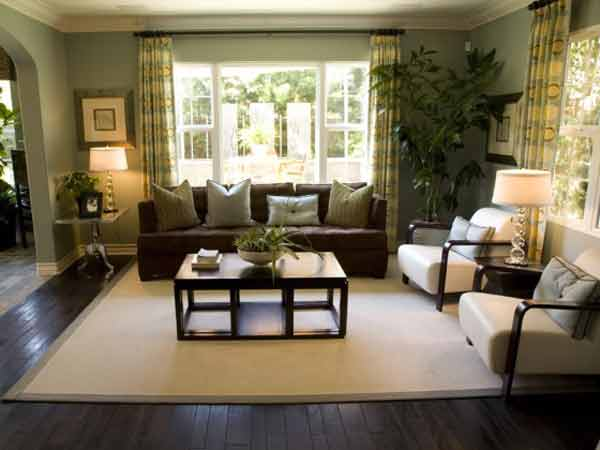 Small living room ideas decoration designs guide for Small apartment living room design