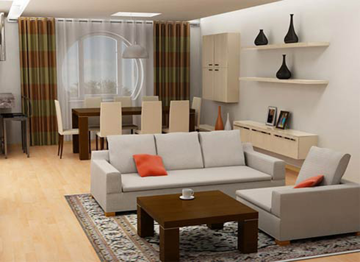Small living room ideas decoration designs guide for Living room ideas small apartment