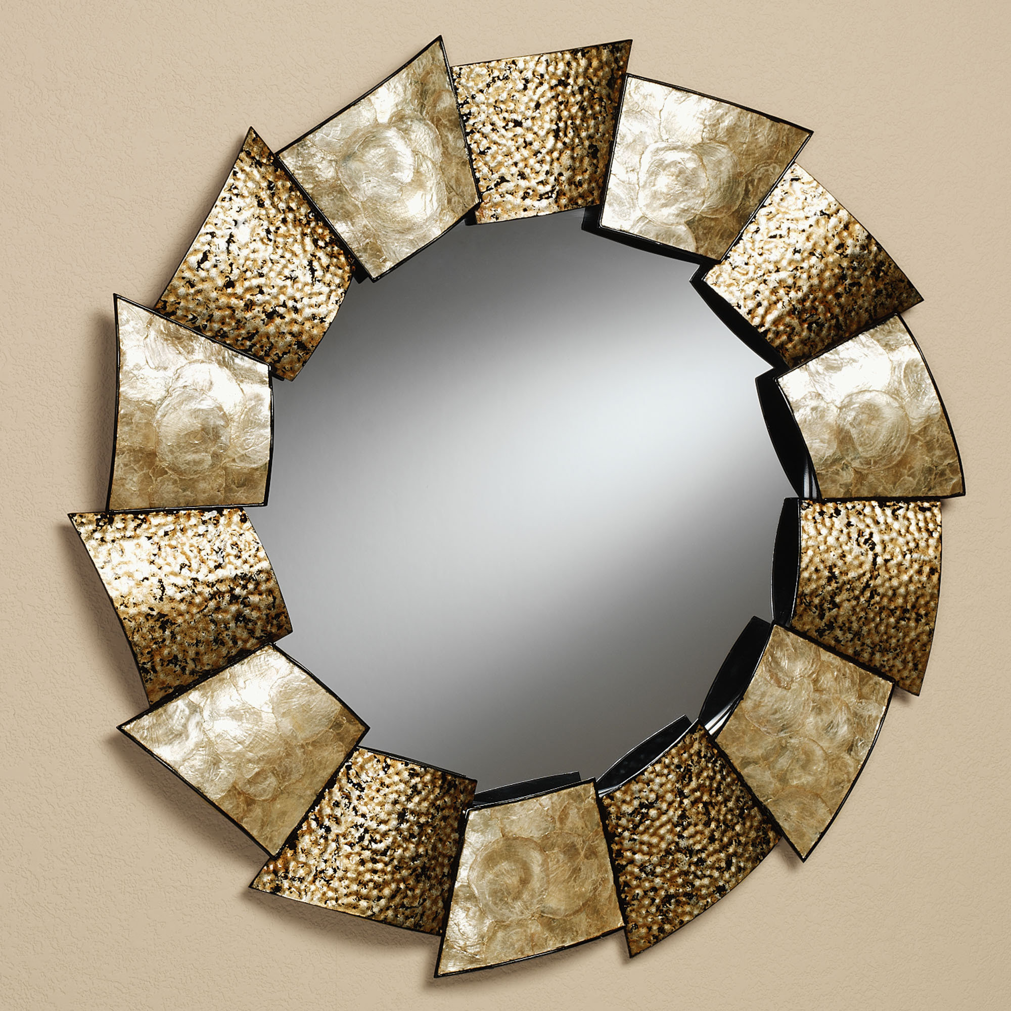 Round Shaped Wall Decor : Wall mirrors decoration designs guide