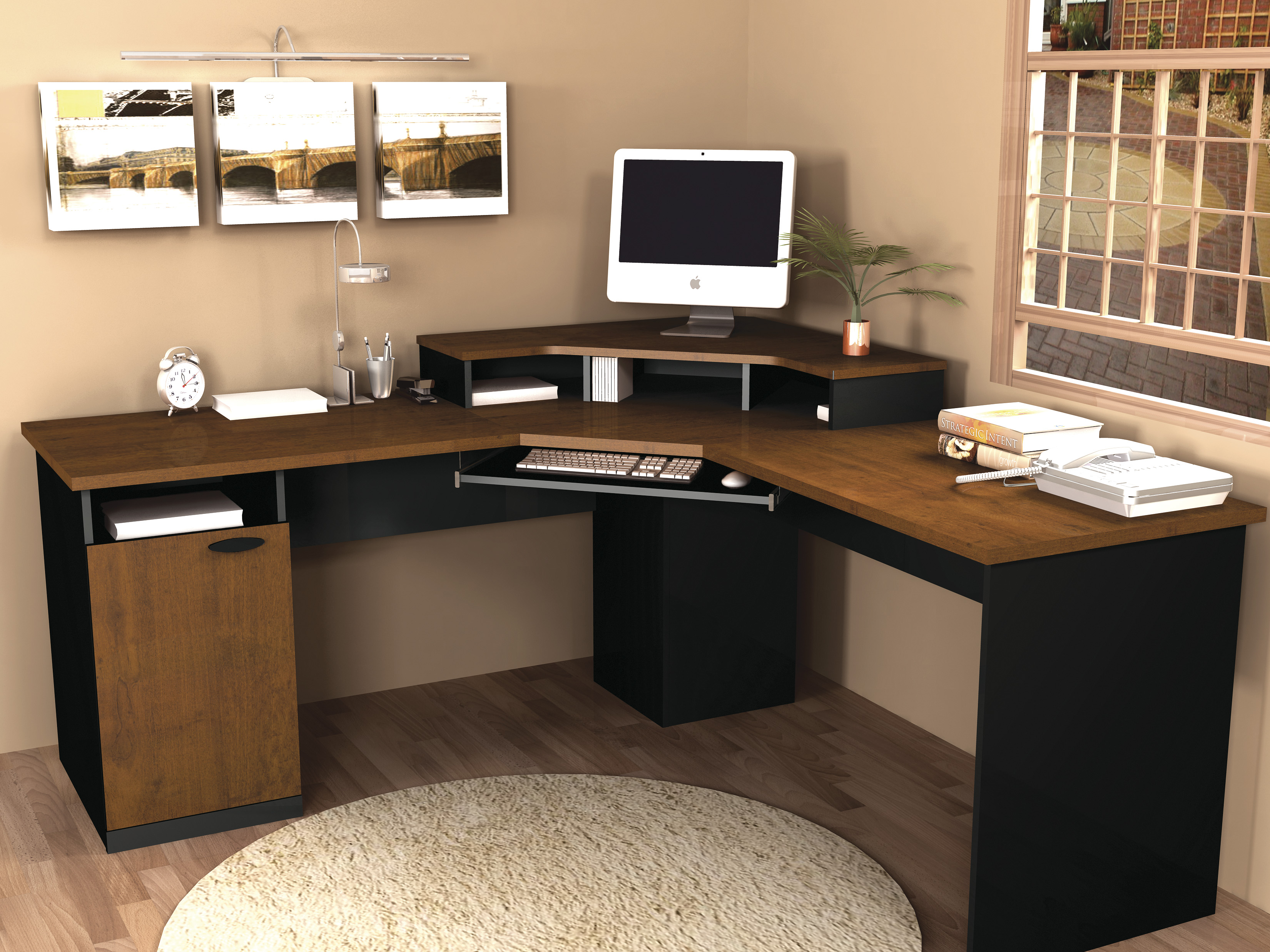 computer furniture design. Computer Desk Furniture Design L