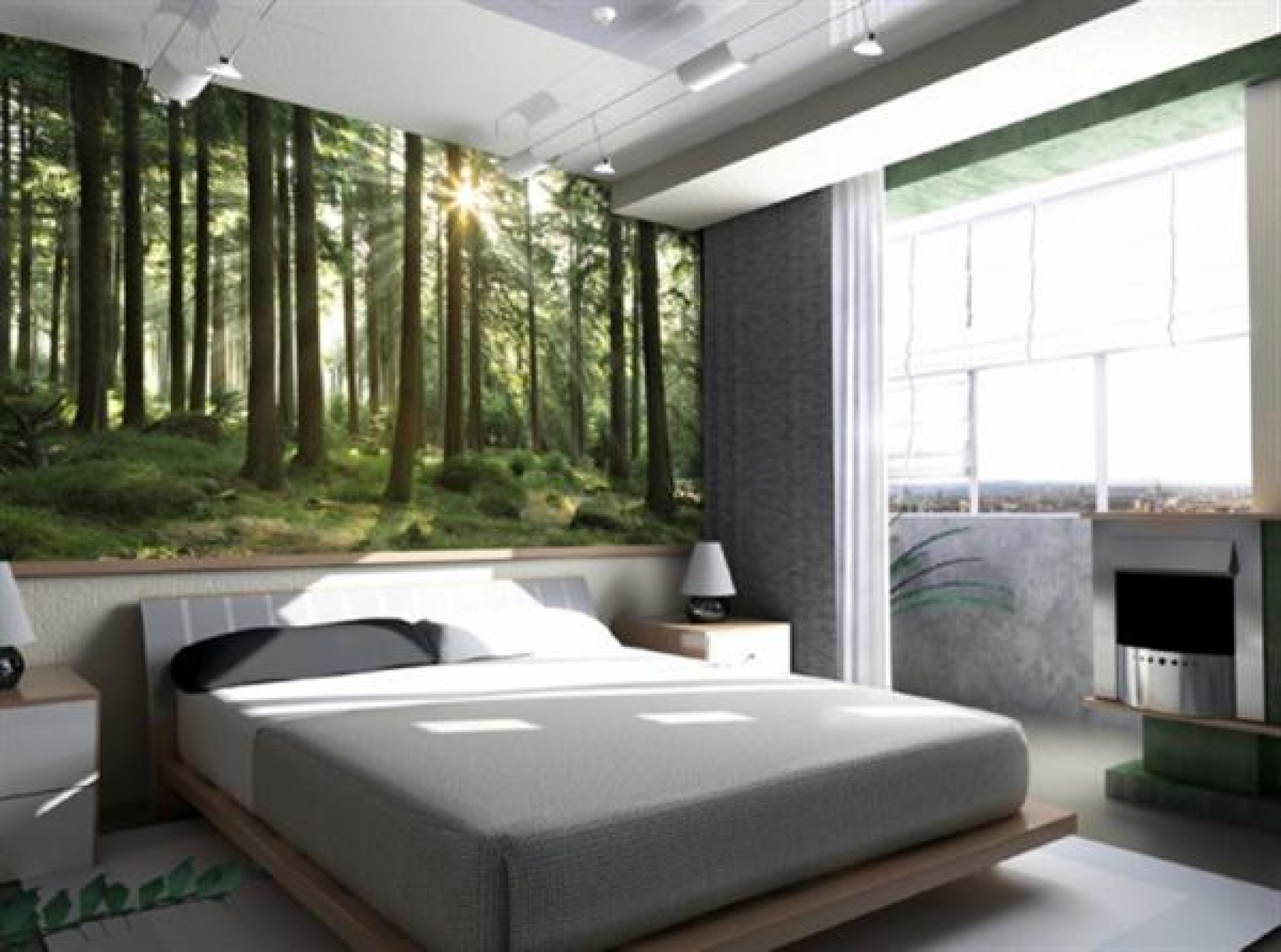 natural bedroom