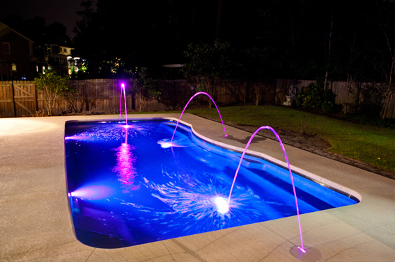 Pool lights decoration designs guide for Pool design guide