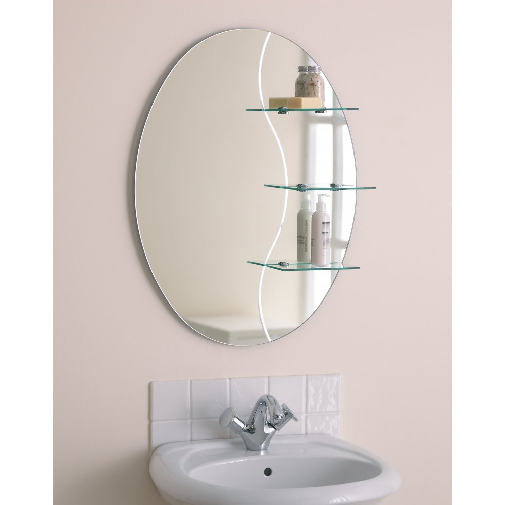 mirror for bathroom. Choosing bathroom mirror with shel  Decoration Designs Guide