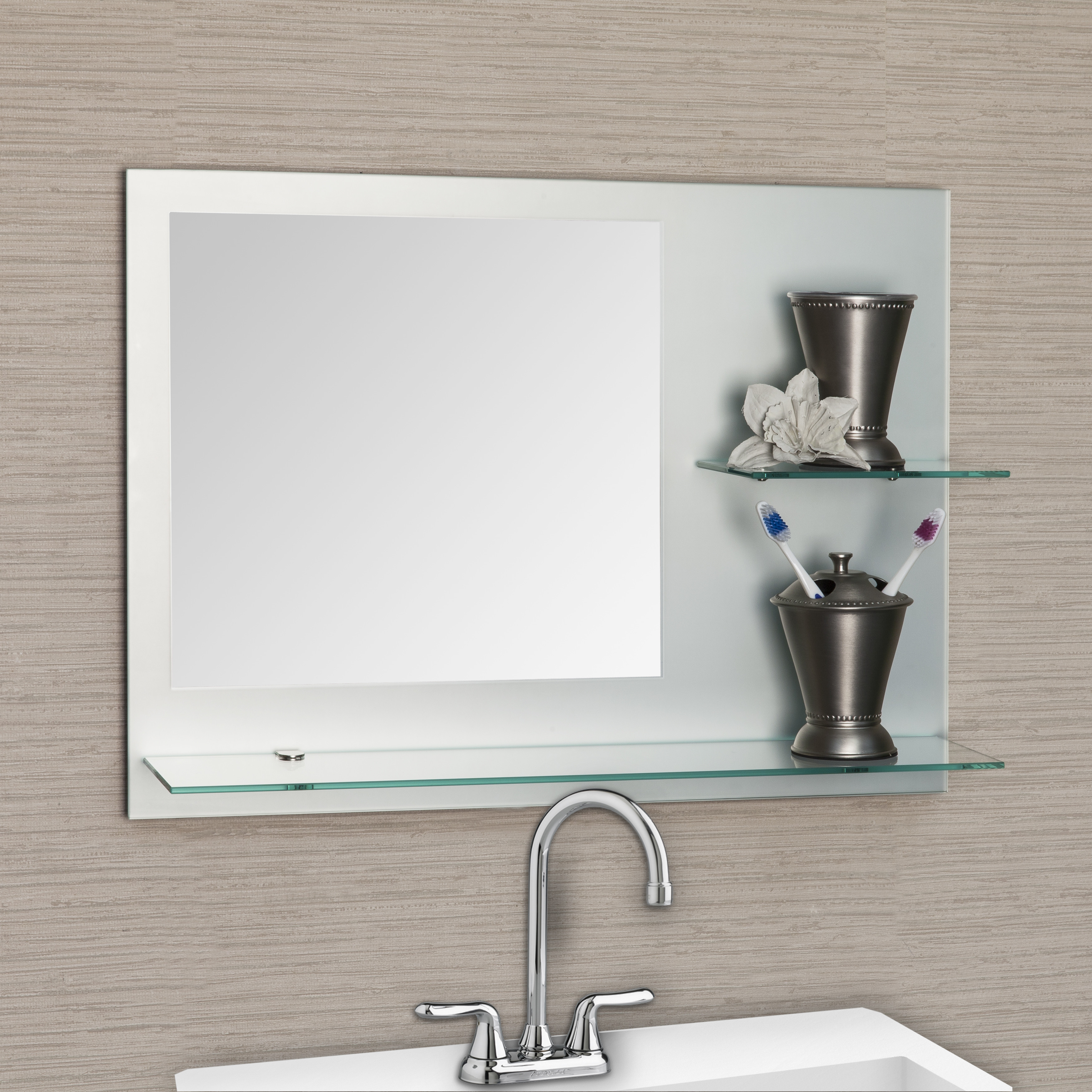 pl com lowes at rectangular mirror in selections x mirrors shop mirros morriston style framed bathroom